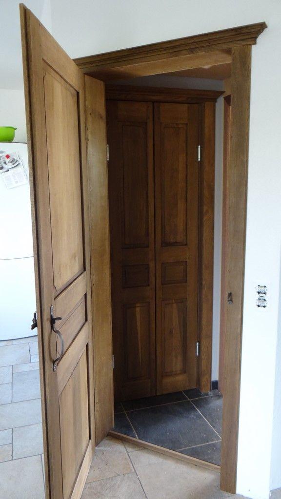 Fabrication Artisanale A L Ancienne De Portes Interieure Chene