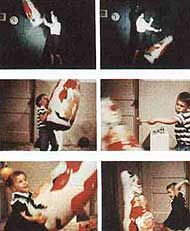 Cindy Gonzalez- Pin chapter 4    This relates to the chapter because it discusses the bobo doll experiment and how children who experience aggressiveness model aggressiveness themselves.