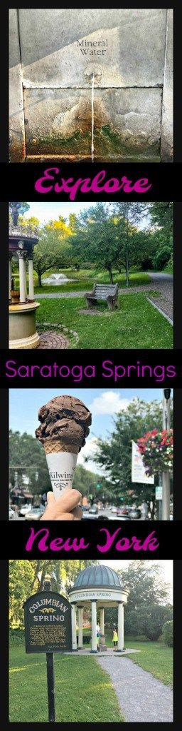 Hiking, a bustling gorgeous downtown, restorative spas- explore a day in the foothills of the Adirondacks in the super-cute town of Saratoga Springs, New York, USA.