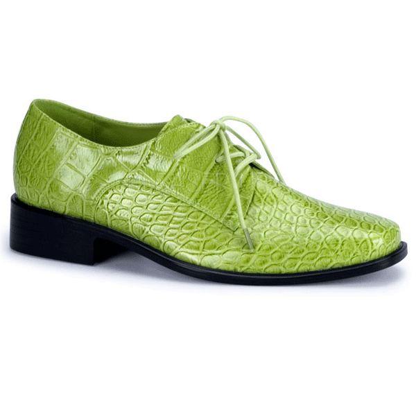 Bestel nu Groene kostuum schoenen voor heren bij Primodo warenhuis. De laagste prijs voor Groene kostuum schoenen voor heren. Vandaag besteld, morgen in huis.