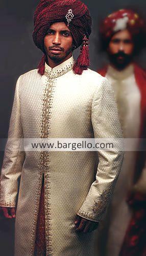 M605 Designer Embroidered Sherwani, Sherwani Designs For Groom, Sherwani Groom, Sherwani Designs For Men Men