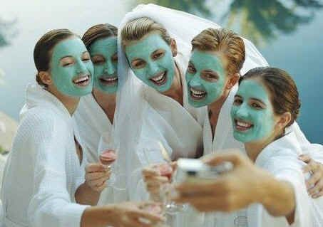 If getting dressed up and heading to the strip club for your bachelorette party isn't your thing, we've got you covered with new ways to celebrate a friends wedding. Spa Party We all love being pampered, so why not spend the day with your friends drinking champagne while getting facials, manis and