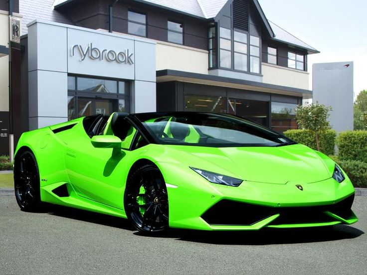 outrageous lambo huracan in lime green perfect for undercover surveillance work