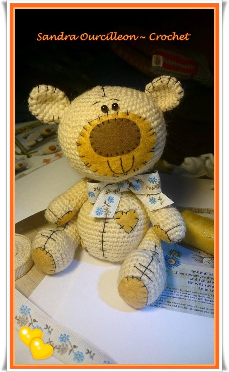 Este pequeño fué el primero en llegar ^_^   https://www.etsy.com/se-en/listing/212731765/amigurumi-crochet-bear-pattern-in?ref=shop_home_active_2
