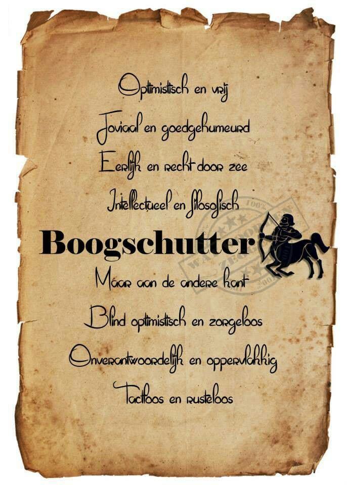 Boogschutter-22-11 t/m 20-12