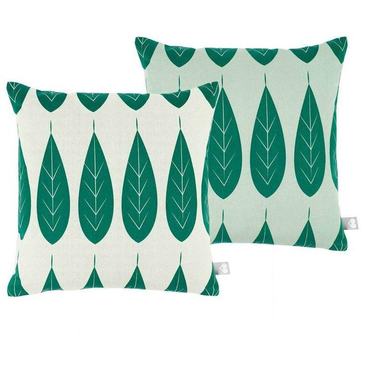 Roomblush Sierkussen Botanic groen katoen 45x45cm