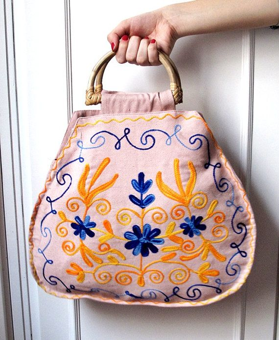 Handmade CUTE Eco Friendly Organic Cotton Tote Bag by loovee, $35.00