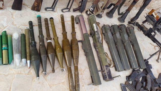 Militer Suriah temukan gudang berisi senjata AS