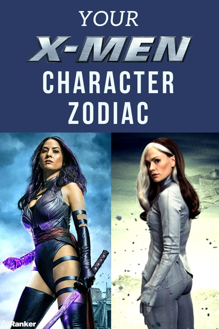 Here S Which X Men Character You Are According To The Zodiac X Men Man Character Xmen Characters