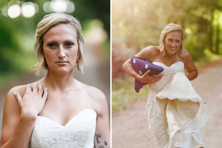 Nikki Salgot never imagined that her engagement would end like this. She was set to be married on October 14, 2017 to Wayne State University police Sergeant Collin Rose. But in November 2016, Rose was killed in the line of duty. Nevertheless, Salgot put on her wedding dress and decided