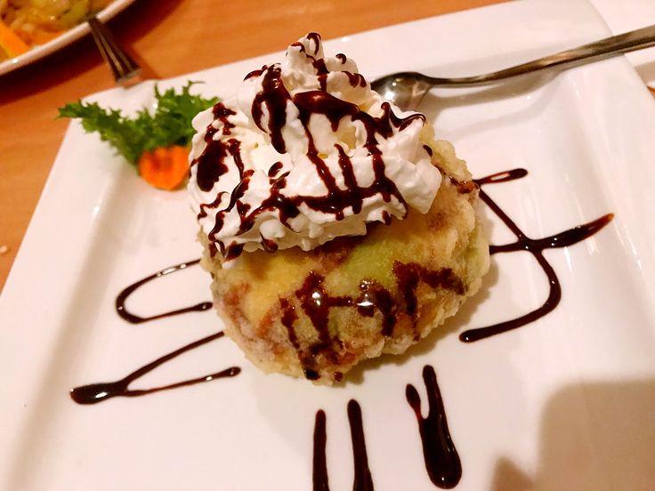 Matcha Fried Ice Cream.