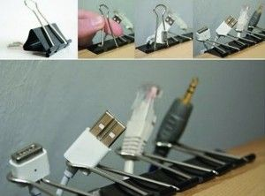 I need to do this with those cords that keep falling to the floor. http://myhoneysplace.com/organize-cords/