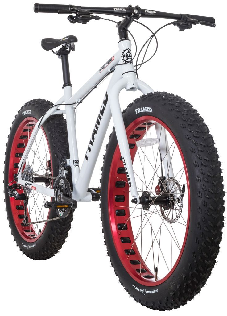 The all new Minnesota 2.0 is here to solidify its position as the fat bike industry leader, with a component spec that can';t be touched for the price. If this is your introduction to the Framed Minnesota line, be prepared to open your mind to a...