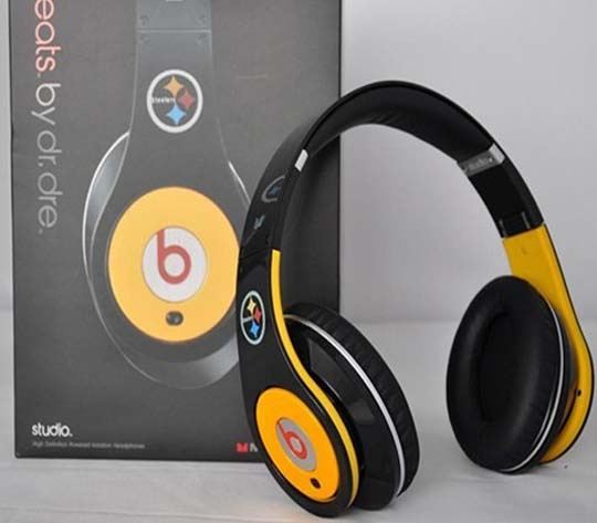 monster handphone: Steelers Limited, Monsters Beats, Limited Editing, Dr. Dre Studios, Studios Pittsburgh, Steelers Beats, Pittsburgh Steelers, Drdre Studios, Beats Studios