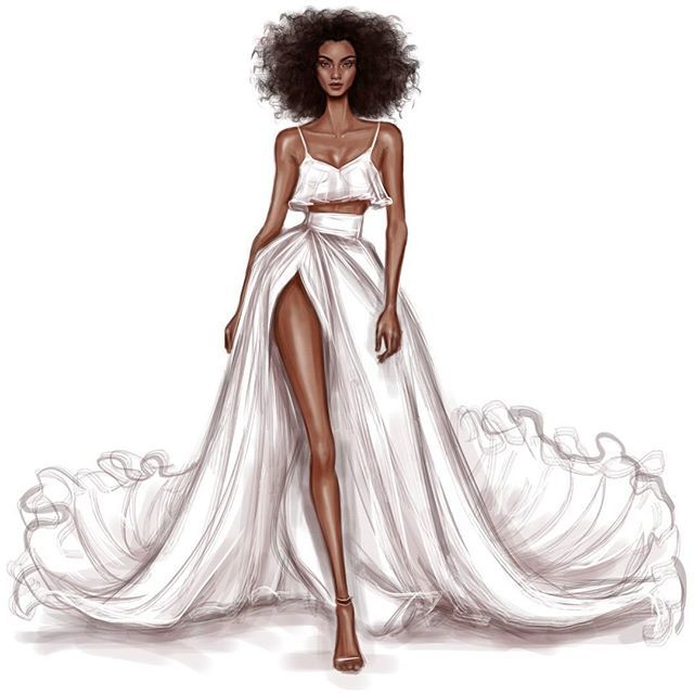 nyfw imaanhammam for brandonmaxwell ss2017 fashion design illustrations fashion