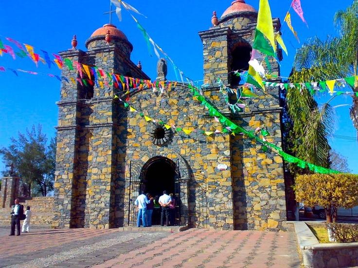 Templo del Cerro de la reina Cihualpilli en Tonala, Jalisco, Mexico.