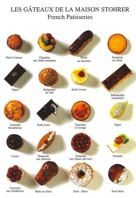 Few things in life better than a good French pastry...