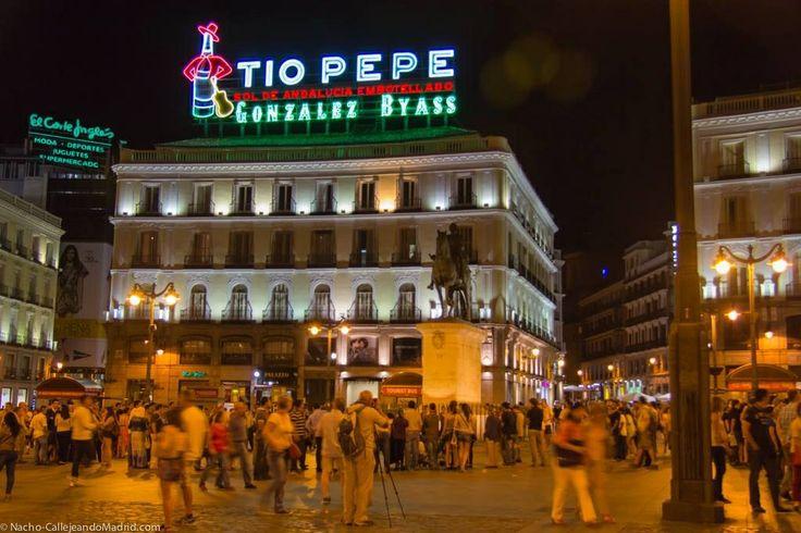 Nueva ubicación del TIO PEPE en la Puerta del Sol.