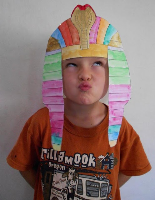 Studying Egypt -- tons of ideas and printables