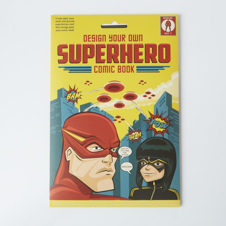 Invent your very own superheroes, create your own adventures and design your own super comic book. Age 7 - 12