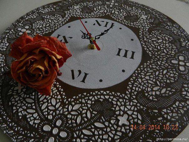 Часы из виниловой пластинки | HandMade