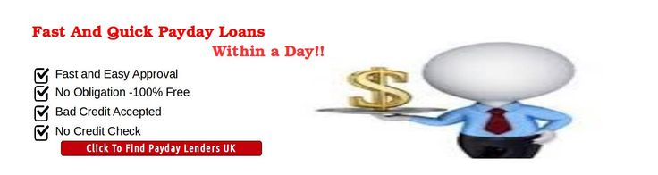 Find the most reliable and honest payday lenders in the UK when you need cash in emergency. The payday lenders at LenderSeekers are very genuine and provides with quick payday loans with no credit checking within a day of approval.