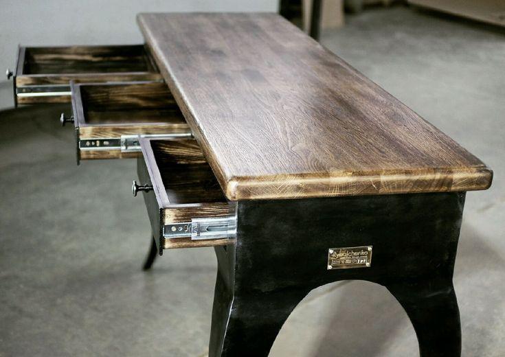 Купить Консольный столик Iron Rokoko - людовик, рококо, индустриальный стиль, индастриал, лофт стиль