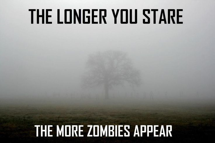 The zombies are coming...