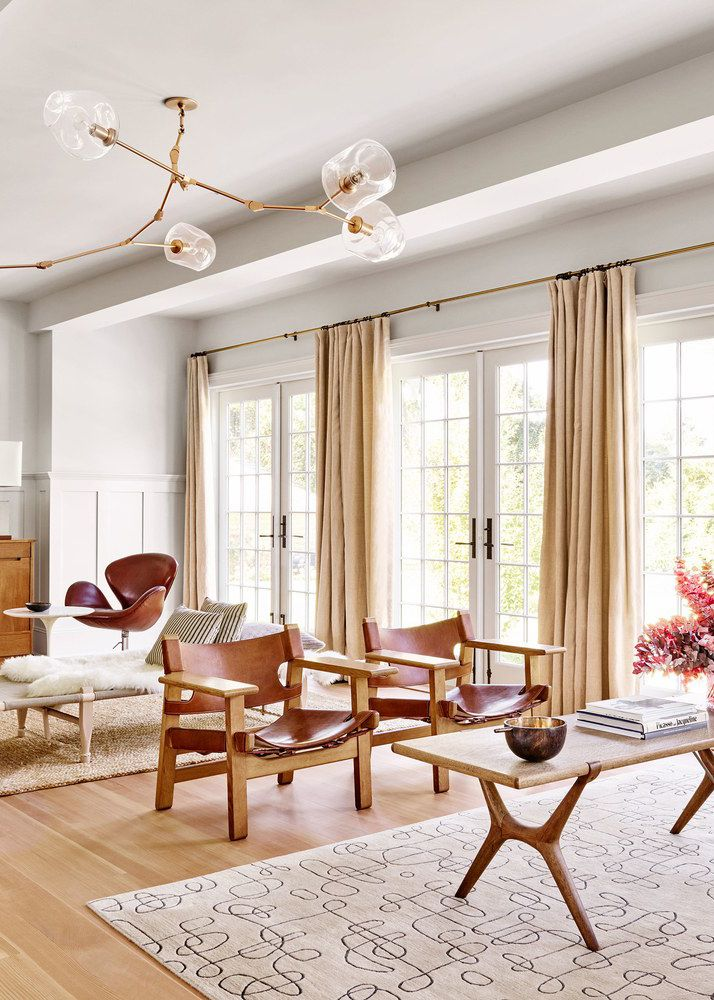 gorgeous french doors and tons of light