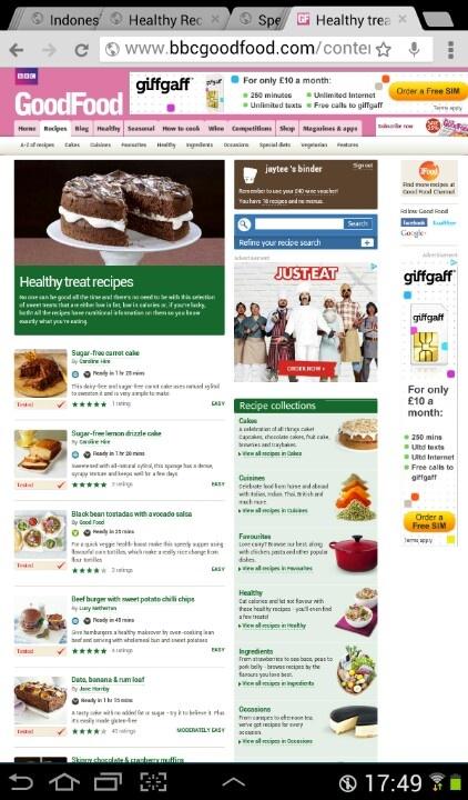 www.bbcgood food.com Healthier sweet treats