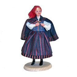 Kielczanka Woman Traditional Polish Doll