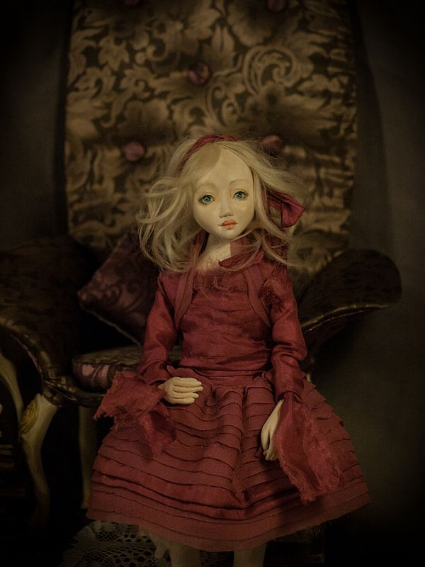 ''Nouvelle'' handmade ooak doll by Romantic Wonders