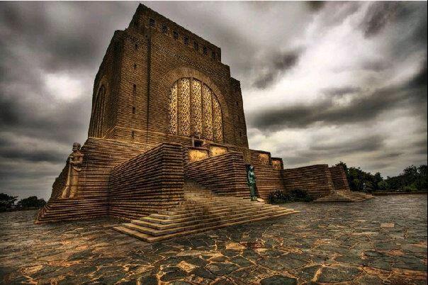 Voortrekker Monument in Pretoria, South Africa
