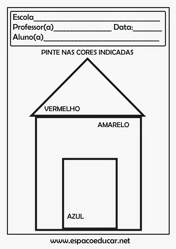 ESPAÇO EDUCAR: Atividades com figuras geométricas para imprimir!