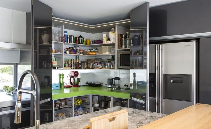 large step-in pantry