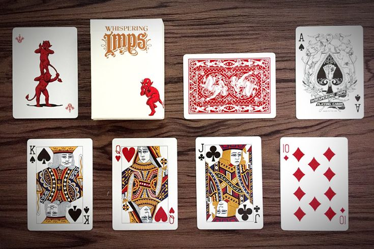 Deck View: Whispering Imps (Executive Workers Edition) Playing Card
