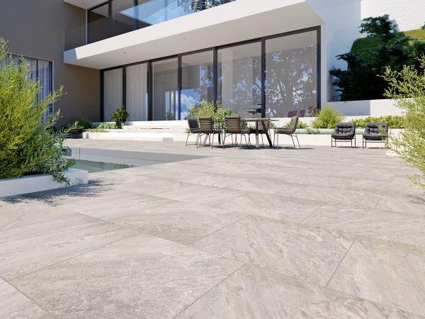 Mediterrane Keramik Platte Fur Den Aussenbereich Keramikplatten Terrasse Pool Fur Kleinen Garten Aussenbereich