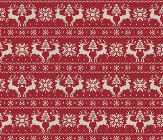 patternprints journal: HAPPY XMAS! PPJ GO ON CHRISTMAS HOLIDAYS: HOLIDAY SWEATER BY SPOONFLOWER