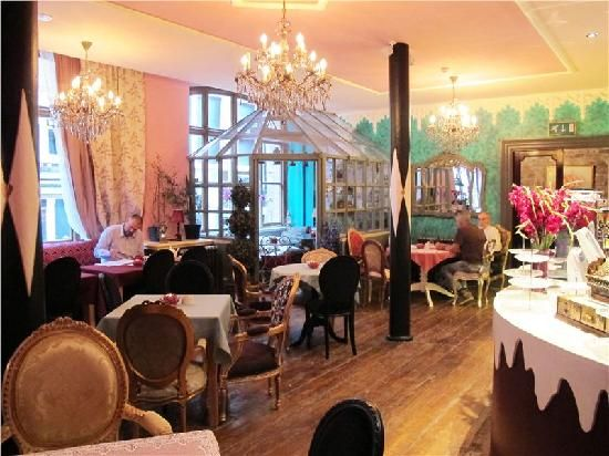 Richmond Tea Rooms, Manchester city centre - love this place!