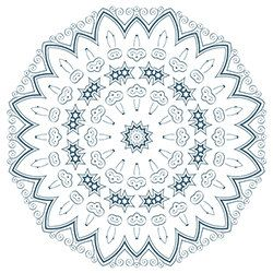 Snowflake Coloring Page 11