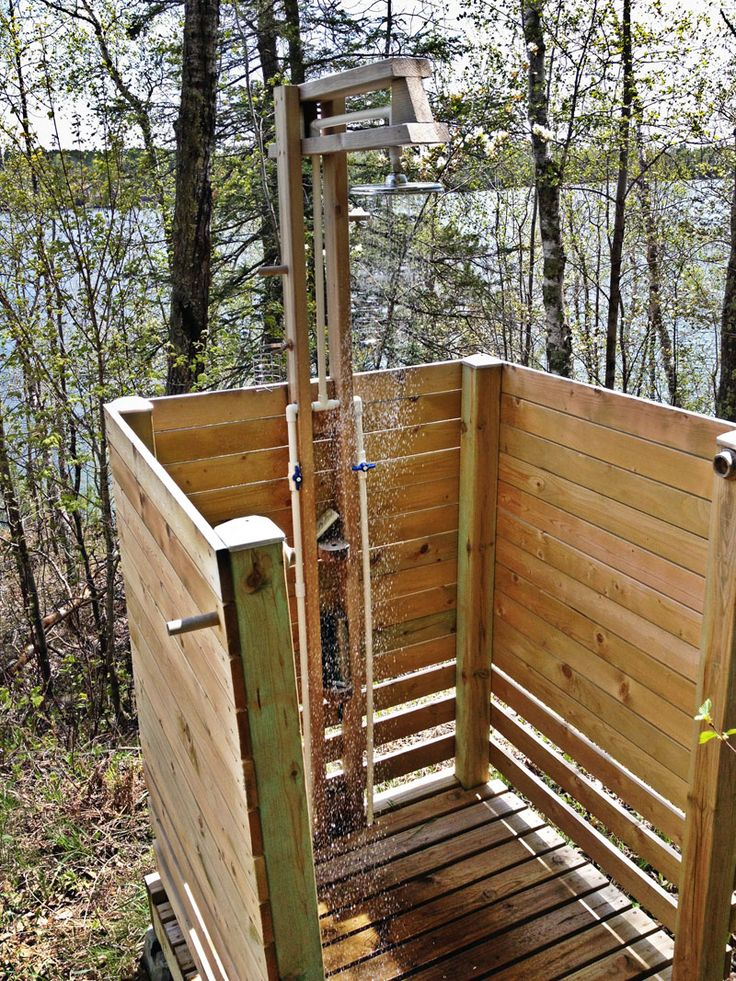 """Northern Minnesota's average summer temperature is around 60°F. So it was only natural that my wife of 34 years, Barb, would ask: """"Why would anyone want an outdoor shower?"""" So the challenge begins … Two years ago during a family reunion at our cabin on Bluewater Lake, a discussion developed around the pros and cons... Read more"""