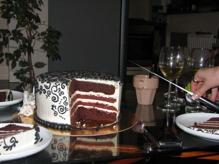 Philadelphia cake for my aunt VII