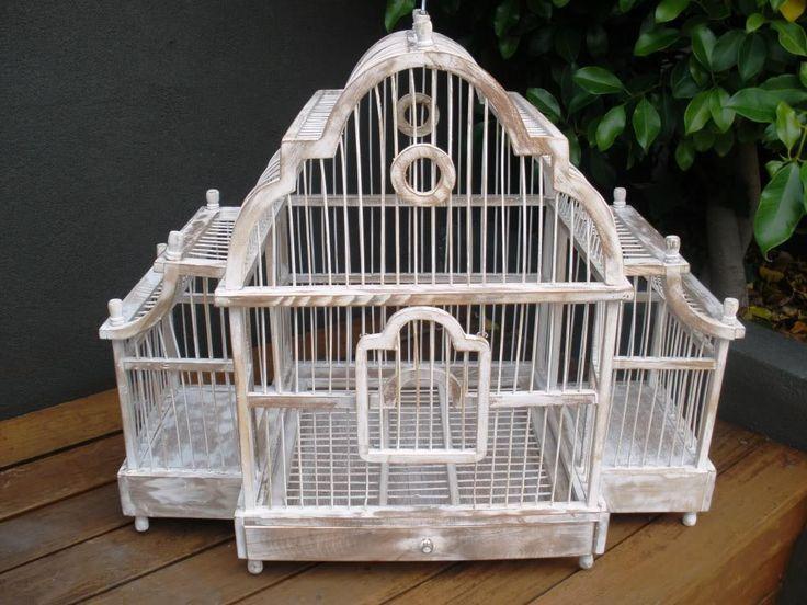 Large Antique Bird Cages
