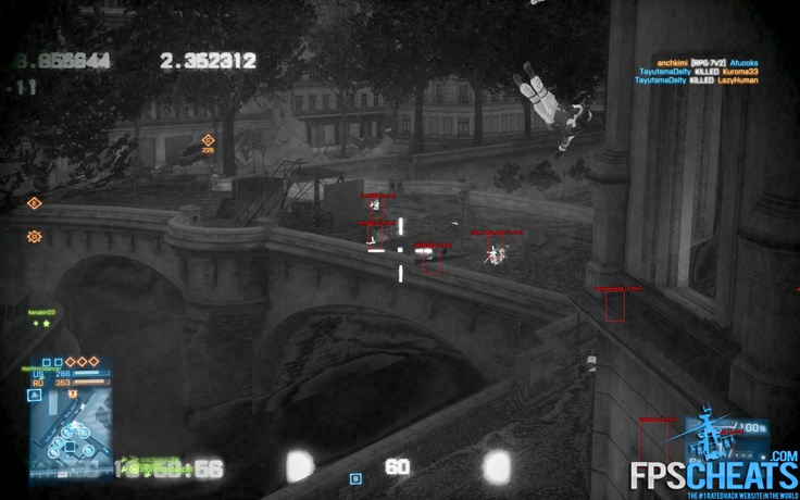 Download Cheats for battlefield 3 free