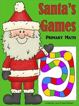 This collection of primary math games will keep your kiddos learning and practicing important Math concepts during the holiday season. It is perfect for Learning Centers - just print, and you're ready to go. Games include: Number Words Odd / Even Telling Time Place Value Fractions + 0 + 1 + 2 Doubles Doubles +1 Make 10 Ready to play!