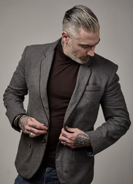 Leather Piping Detailed Blazer