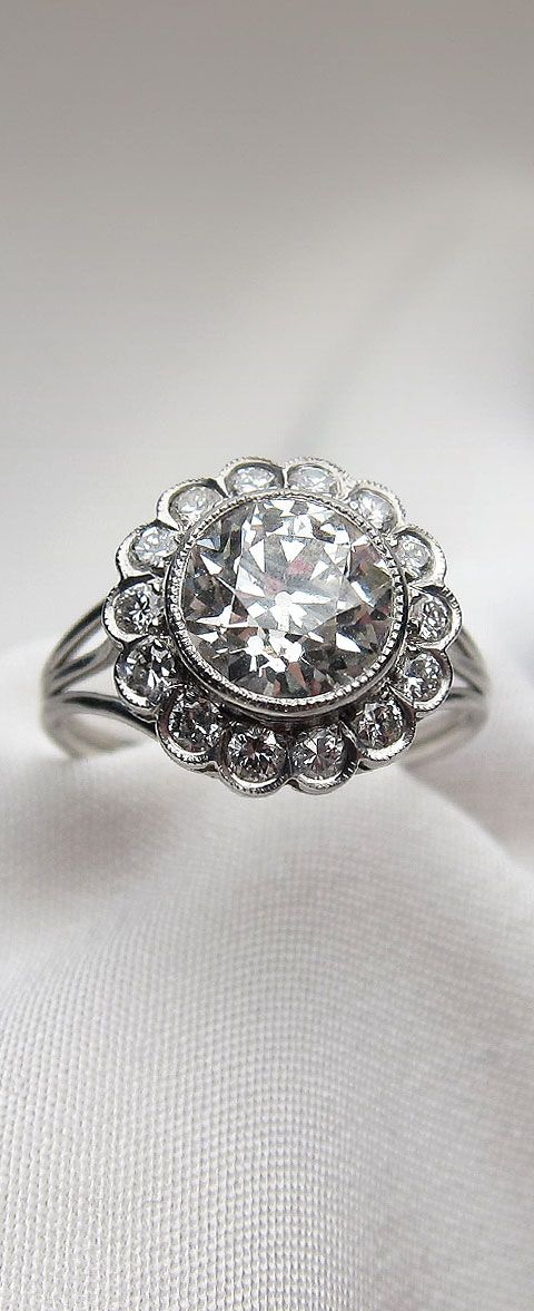 17 best images about vintage antique engagement rings on