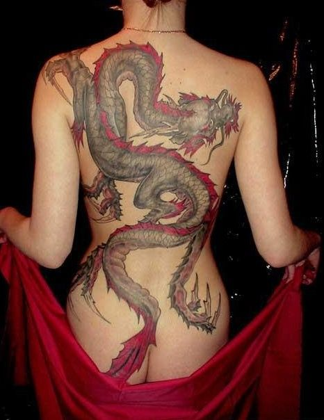 190 best tattoos images on pinterest for Hot female back tattoos