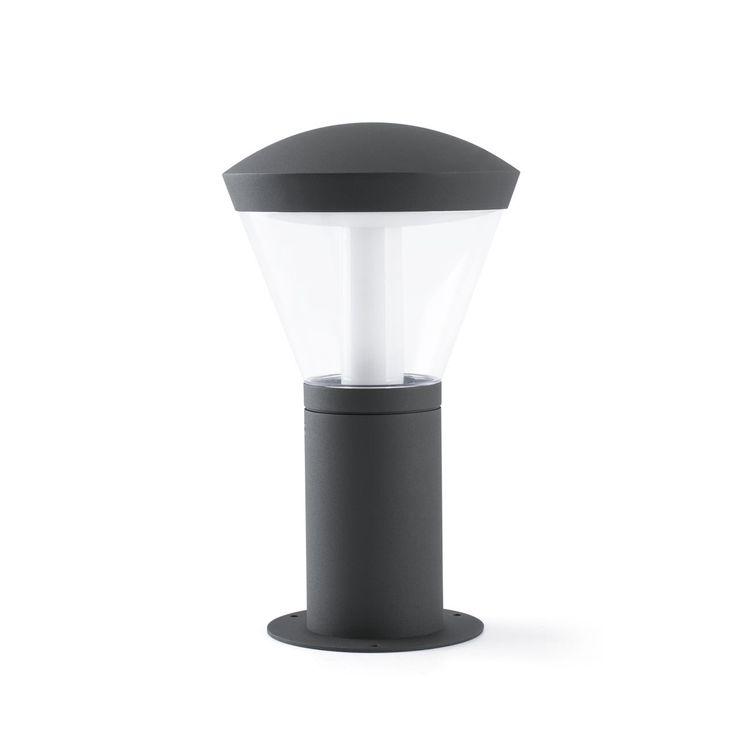 Sobremuro de LED para jardín y exteriores modelo Shelby de Faro | Comprar lámparas para muros y paredes de jardin LED #iluminacion #decoracion #diseño #lamparas #exterior #jardin
