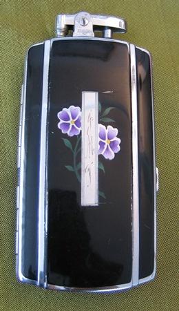 Cigarette Case with Lighter. SOLD